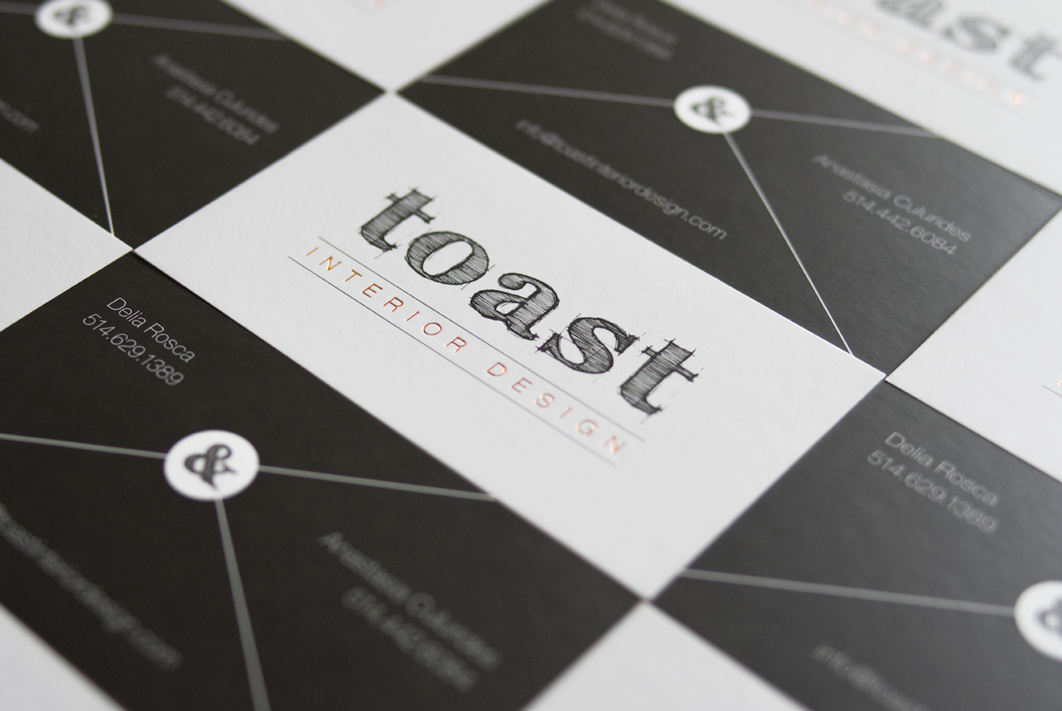 Toast Business Cards