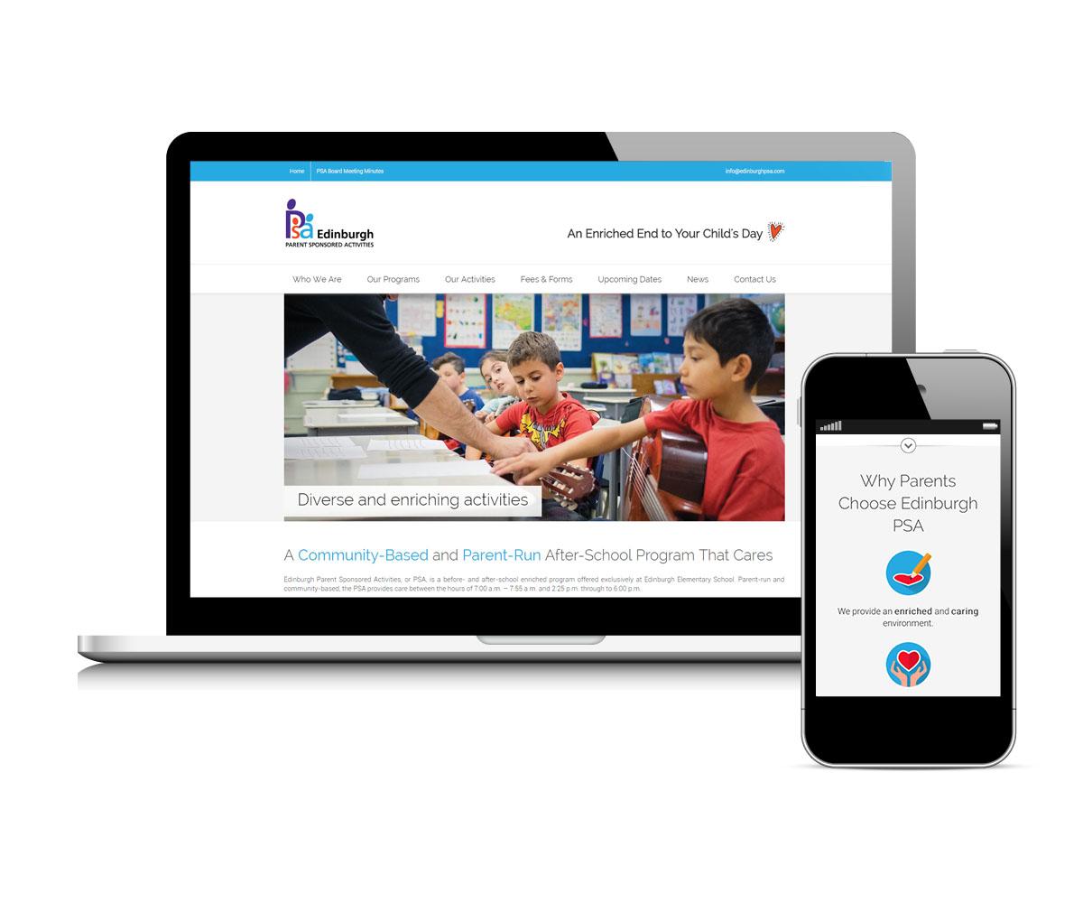 Edinburgh PSA website